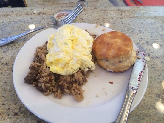 La Maison Marigny B&B on Bourbon: Dirty Rice- so yummy!