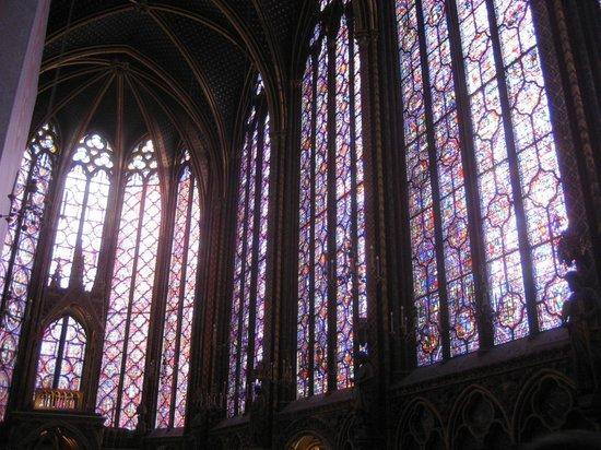 Sainte-Chapelle : Сент-Шапель, внутри