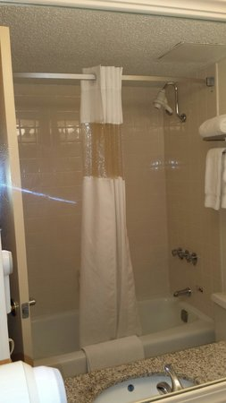 Ramada Morgantown Hotel & Conference Center: New bathrooms too!
