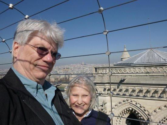 Tours de la Cathedrale Notre-Dame : on the tower
