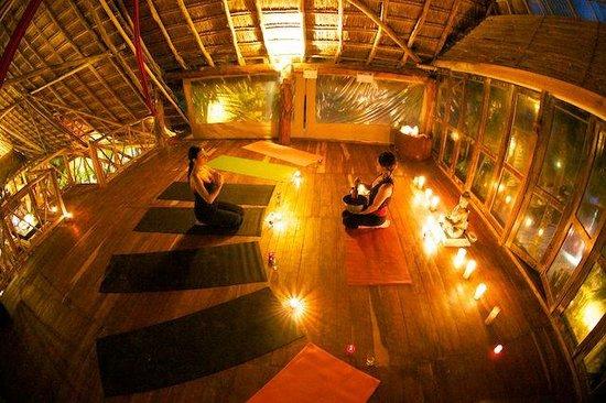 Mirko & Luna Candlelight Yoga Tulum Mexico
