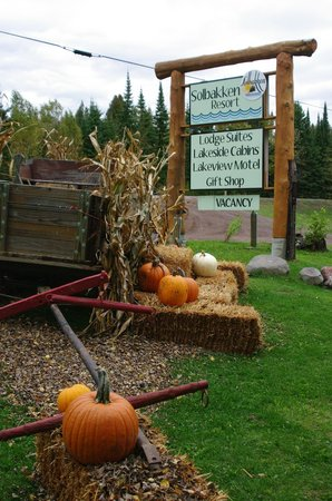 Solbakken Resort: Fall is fun!
