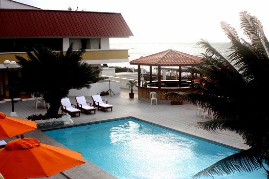 La Piedra Hotel: Área de Piscina