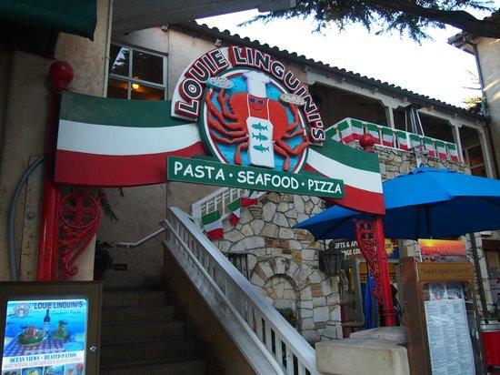 Louie Linguini's: Front entrance