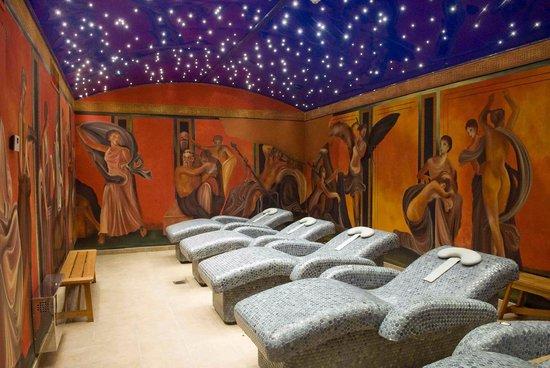Carranque, Spain: Sala de relax Villa de los Misterios