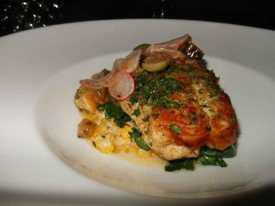 Perennial Virant : Delicious grilled fluke
