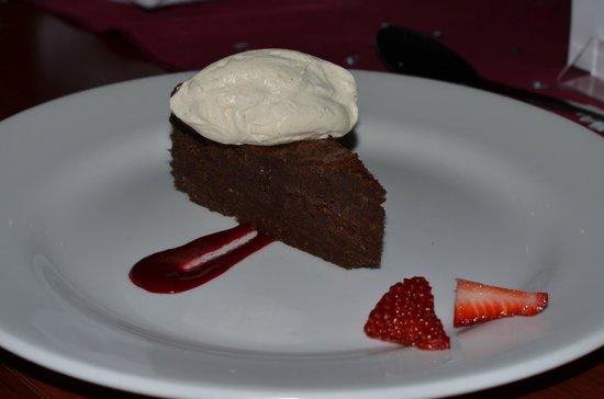 The Mulberry: Dark Chocolate Torte