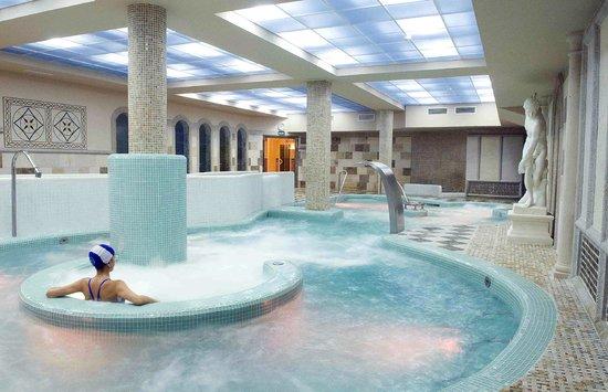 zona termal del spa Domus Aurea