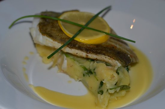 The Mulberry: Cod and Prawn and Spinach Mash