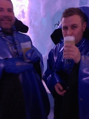 Xtracold Icebar Amsterdam : quick drink up