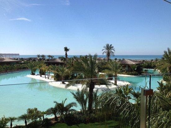 Maxx Royal Belek Golf Resort: View from restaurant