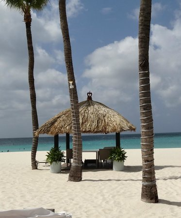 Bucuti & Tara Beach Resort Aruba: Private dining on the beach