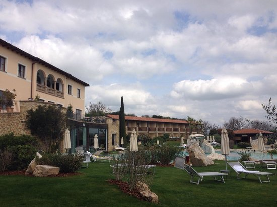 Hotel Adler Thermae Spa & Relax Resort: Vista dalla camera
