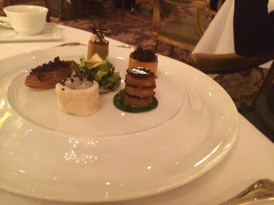 Le Cinq : Vegetables and truffles