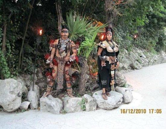 Hotel Riu Playacar : Развлекательный парк Шкарет