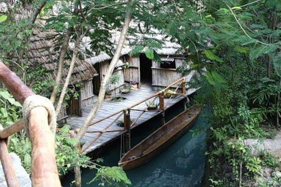 Hotel Riu Playacar: Развлекательный парк Шкарет
