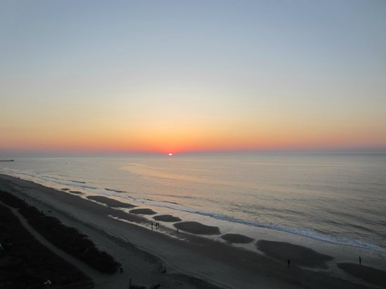 Landmark Resort : View from my room at sunrise,