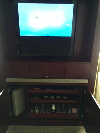 Mandarin Oriental, Paris : TV and minibar