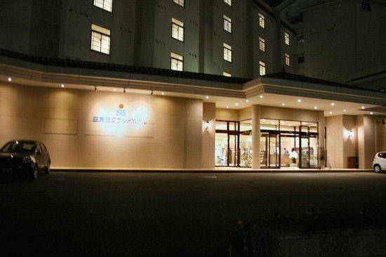 Shiraraso Grand Hotel : Hotel Enterance