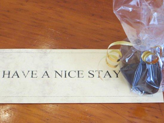 Hotel Pod Vezi : Gift on Day 1