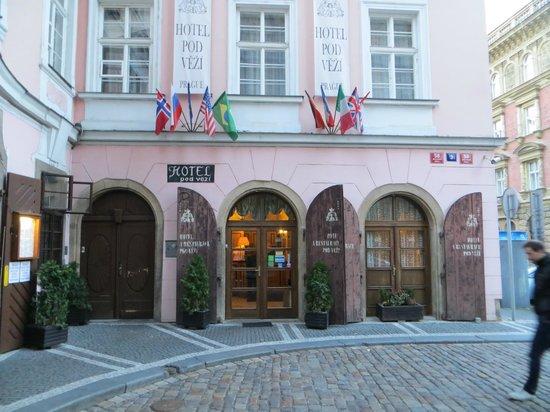 Hotel Pod Vezi : Outside of Hotel