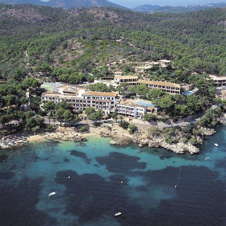 Vista aerea del Hotel Cala Fornells