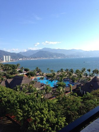 Melia Puerto Vallarta All Inclusive: View from our room