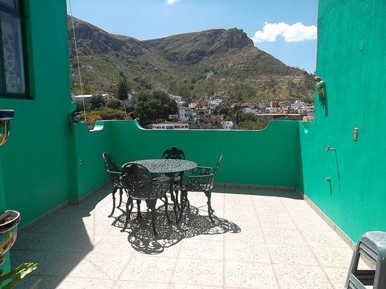 Maggic Home B&B: Terraza