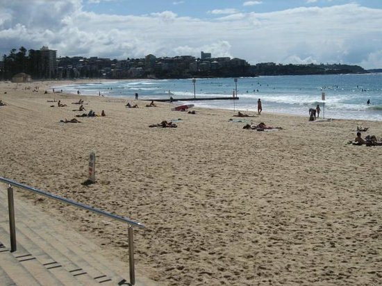 Manly Beach from the boardwalk