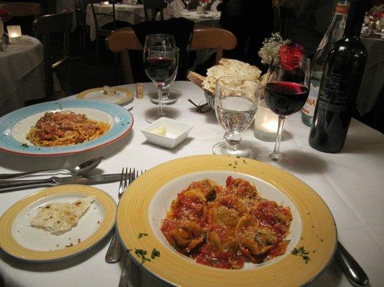 Lattanzi Ristorante: Apresentação da comida