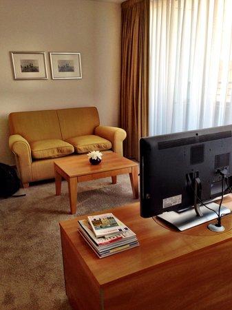 The Mandala Hotel : Sitting area