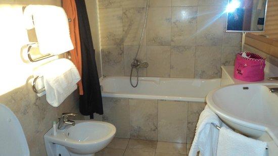 Hotel Alexandra : bagno