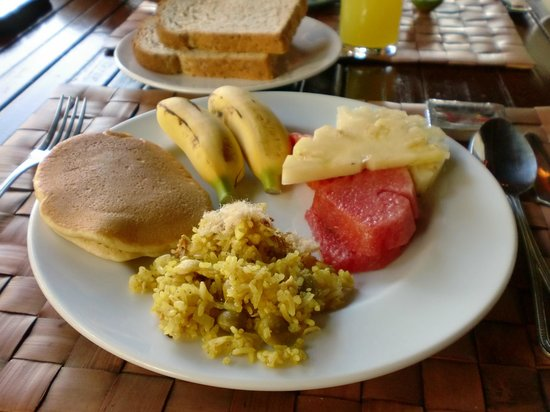 SriLanta Resort: Petit déjeuner