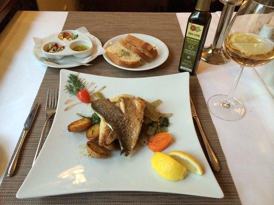 Ariston: Gilthead fish filet
