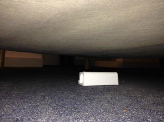 Hotel Printania Porte de Versailles: piège à souris sous le lit
