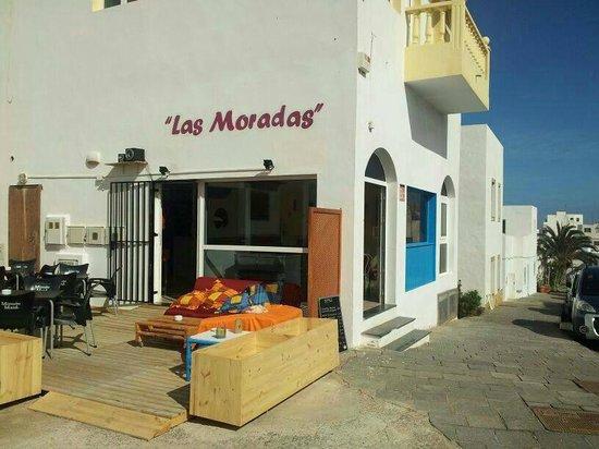 Bar Cafetería Las Moradas: Exterior Las Moradas