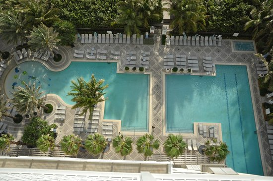 Marriott's Oceana Palms : pools viewed from balcony