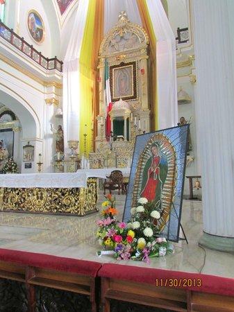 La Iglesia de Nuestra Senora de Guadalupe: The workmanship is amazing