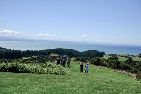 The Farm at Cape Kidnappers : The viewfrom the lodge dining room