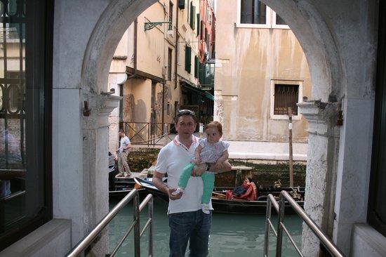 Hotel Ai Reali di Venezia : Water taxi Area