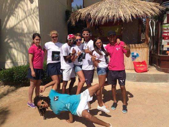 Hilton Hurghada Resort: Animation team
