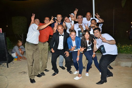 Hilton Hurghada Resort: Earth hour party