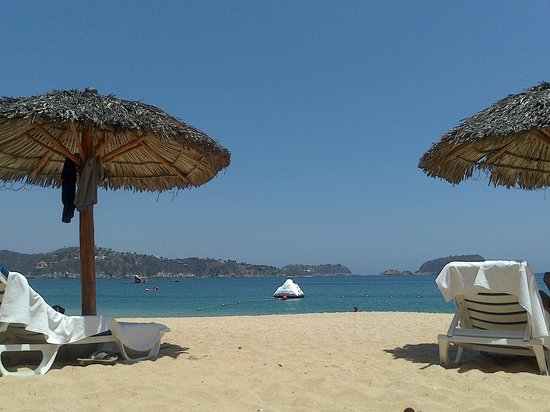 Las Brisas Huatulco : Playa