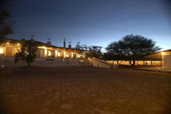 Explora Atacama - All Inclusive : Explora Atacama from outside at night-time