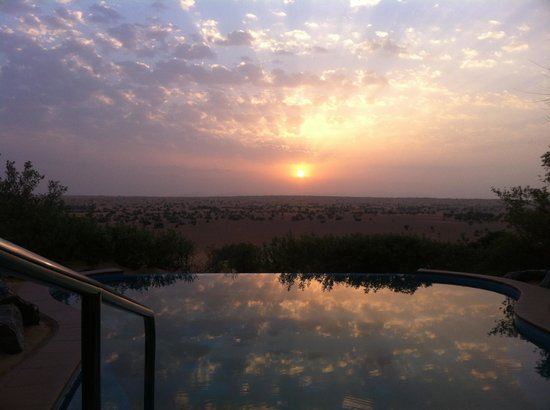 Al Maha, A Luxury Collection Desert Resort & Spa : The view from our terrace