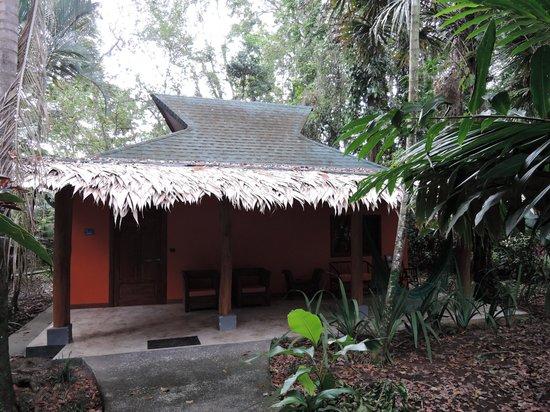 Cariblue Beach & Jungle Resort: Exterior bungaló