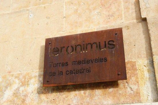Ieronimus: cartel