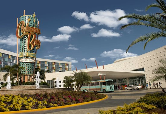 Universal S Cabana Bay Beach Resort Front Entrance