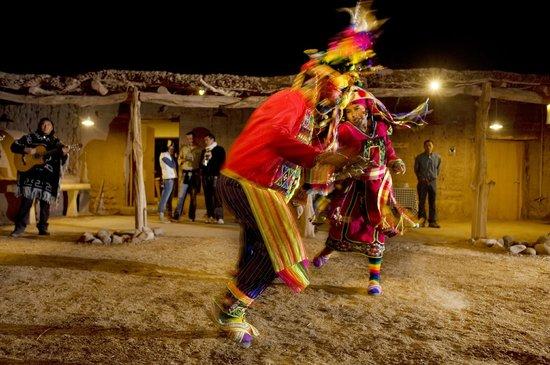 "Cultural activities in the ""quincho"" of Explora Atacama"