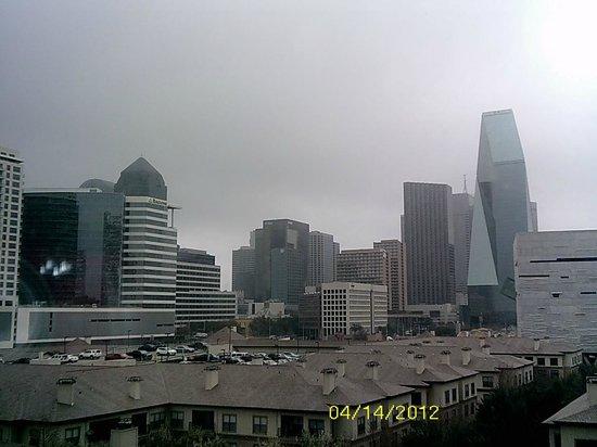 W Dallas Victory Hotel: nice city view